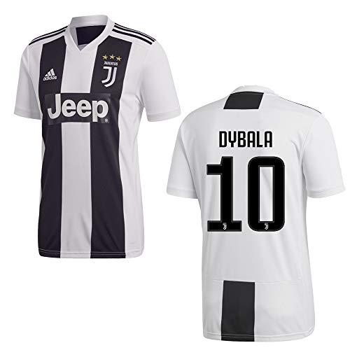 adidas Juventus Turin Trikot Home Herren 2019 - Dybala 10, Größe:M