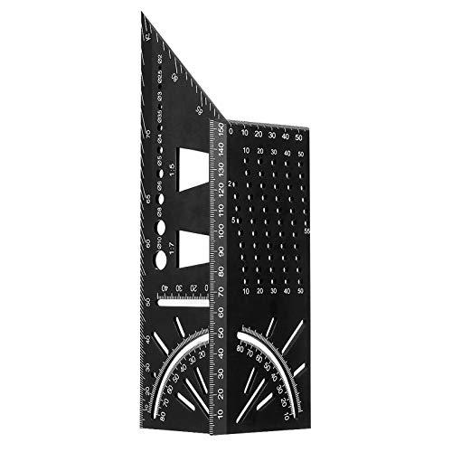 3D Gehrungswinkel, Orthland Mitre Aluminiumlegierung Anschlagwinkel Zollstock Holzbearbeitung Quadratisch...