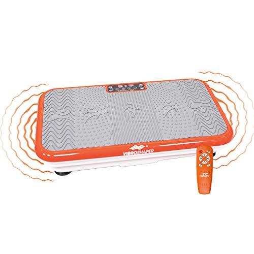 Mediashop VibroShaper – Fitness Vibrationsplatte unterstützt bei Muskelaufbau und Fettverbrennung –...