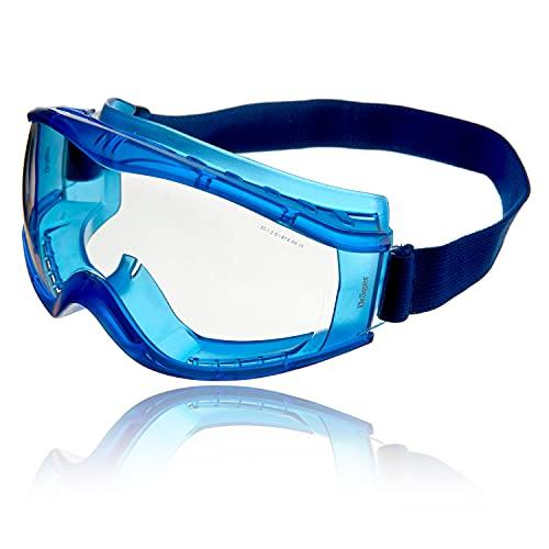 Dräger Schutzbrille X-pect 8520   Beschlagfreie Vollsichtbrille auch für Brillenträger   Für Baustelle,...
