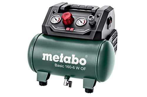 Metabo Kompressor Basic 160-6 W OF (Kessel 6 l, Max. Druck 8 bar, Ansaugleistung 160 l/min, Füllleistung 65...