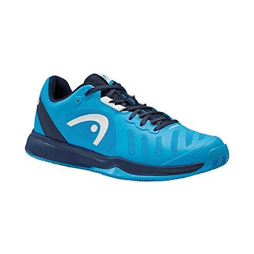 HEAD Herren Sprint Team 3.0 2021 Clay Men Tennis Shoe, Ozean blau/blau, 40 EU