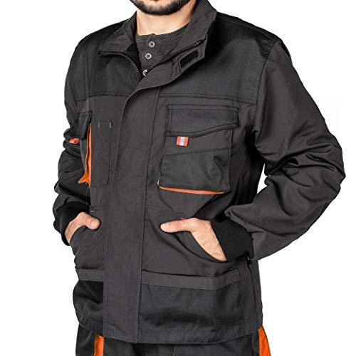 Arbeitsjacke männer, Arbeitsjacken herren, Schutzjacke mit vielen Taschen, Arbeitskleidung männer Größen...