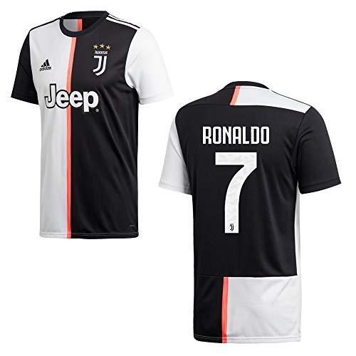 adidas Juventus Turin Trikot Home Kinder 2020 - Ronaldo 7, Größe:140