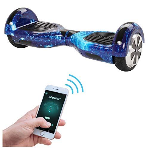 Robway W1 Hoverboard - Das Original - Samsung Marken Akku - Self Balance - 22 Farben - Bluetooth - 2 x 350...