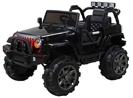Actionbikes Motors Offroad Jeep Adventure - 2 x 35 Watt Motor - Reifen mit Weichgummiring - Fernbedienung -...