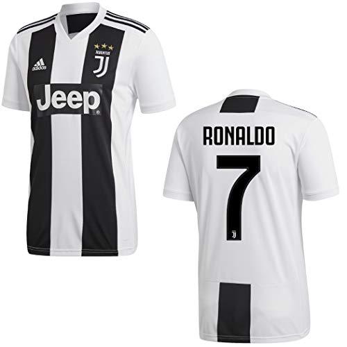 adidas Fußball Juventus Turin Heimtrikot 2018 2019 Trikot Home Ronaldo 7 Herren Gr S
