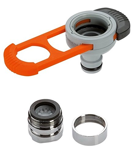Gardena Adapter für Indoor-Wasserhähne: Praktischer Adapter zum Anschluss des Gardena Systems an einen...