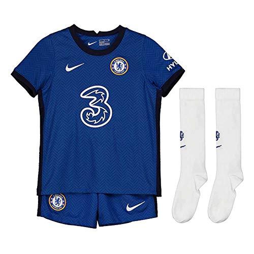Nike Kinder Trikot Set Chelsea FC Home, Rush Blue/White, XL, CD4588-496