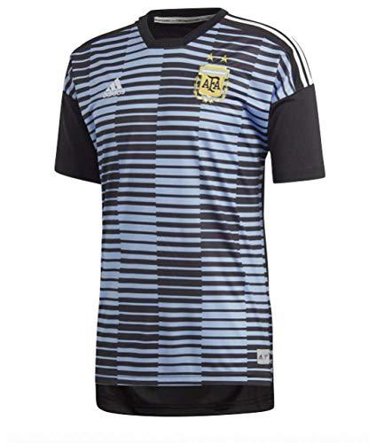 adidas Herren Argentinien Heim Pre-Match Shirt, Clblue/Black, L