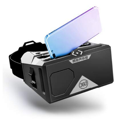 MERGE VR Headset - Augmented Reality und Virtual Reality Headset, edukative Spiele Spielen und 360-Grad-Videos...