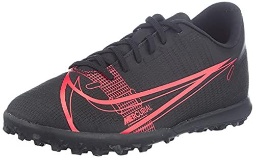 Nike Unisex Vapor 14 Club Tf Turf football trainers, Schwarz, 43 EU