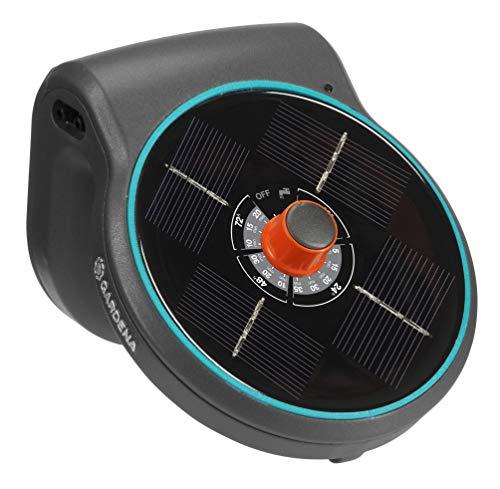 GARDENA Solar-Bewässerung AquaBloom Set: Solarbetriebenes Bewässerungssystem für Balkon- und...