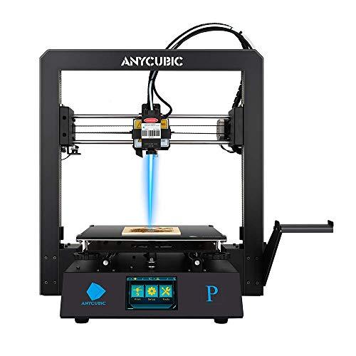 ANYCUBIC Mega Pro FDM 3D-Drucker mit 3D-Druck & Lasergravur 2 in 1 , 210×210×205mm (Druckgröße) &...