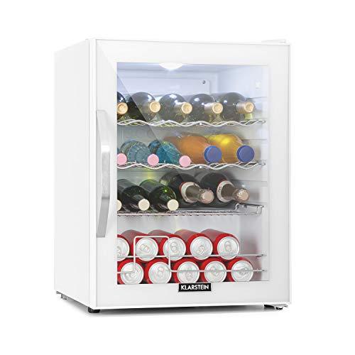 Klarstein Beersafe XL - Getränkekühlschrank, 60 Liter, Energieeffizienzklasse A++, 5 Kühlstufen: 3-10 °C,...