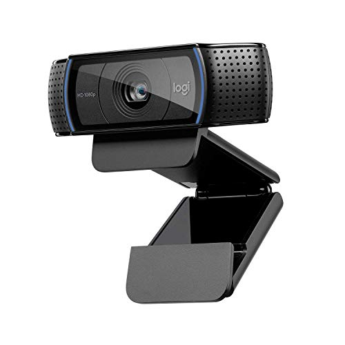 Logitech C920 HD PRO Webcam, Full-HD 1080p, 78° Sichtfeld, Autofokus, Klarer Stereo-Sound,...