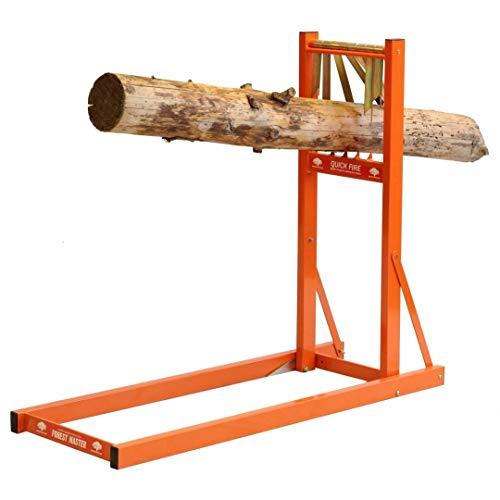 Forest Master Metall Sägeständer Sägebock Sägehilfe Baum-Stämme Ø 50 - 250 mm
