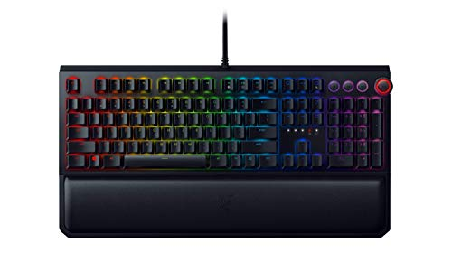 Razer BlackWidow Elite Mechanische Gaming-Tastatur: gelbe mechanische Schalter – linear & leise – Chroma...