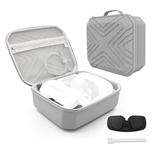 JustPe Carry A Suitcase, kompatibel mit Oculus Quest 2 VR Gaming Headset, stoßfest, leicht, kompakt,...