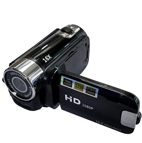 Videokamera Camcorder Digitalkamera Kamera Full HD 1080P Vlogging-Kamera 270 ° -Drehung Drehbarer Bildschirm...