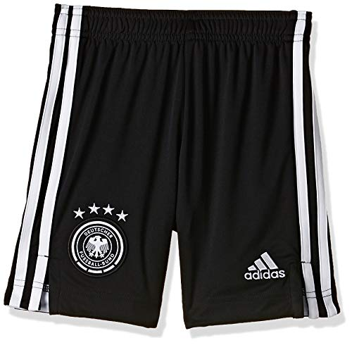 adidas Jungen Kurze Hosen DFB H SHO Y, Negro/Blanco, 152 (11/12 años), FS7593