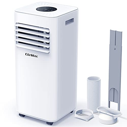 Corlitec Mobile Klimaanlage,9000 BTU 3-in-1-Tragbare Klimagerät, Luftentfeuchter,Kühlgebläse,mit...