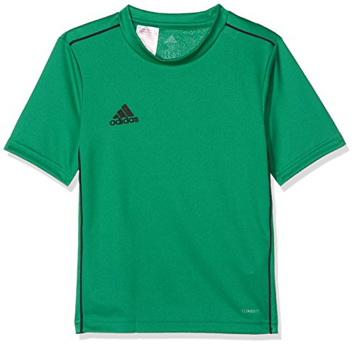 adidas Kinder CORE18 Y Jersey, Grün (bold green/schwarz), 140