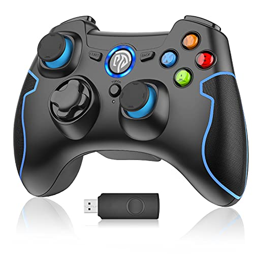 PC Gamepad, EasySMX Wireless Controller, gaming Controller für PS3/PC(Windows XP/7/8/8.1/10)/Android TV-Box,...
