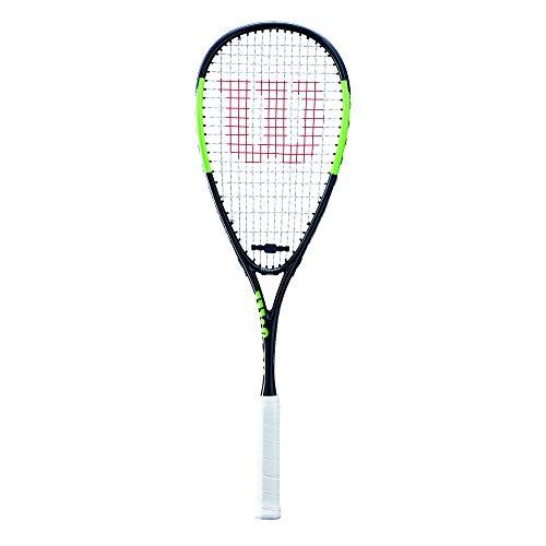 Wilson Squash-Schläger, Blade, Unisex, Grifflastige Balance, Schwarz/Grün, WRT916730
