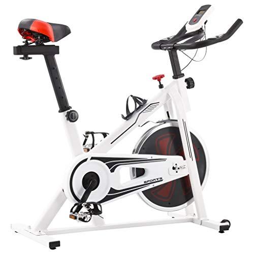 vidaXL Fitnessfahrrad mit Pulssensoren Heimtrainer Hometrainer Fahrrad Trimmrad Fitnessbike Ergometer...