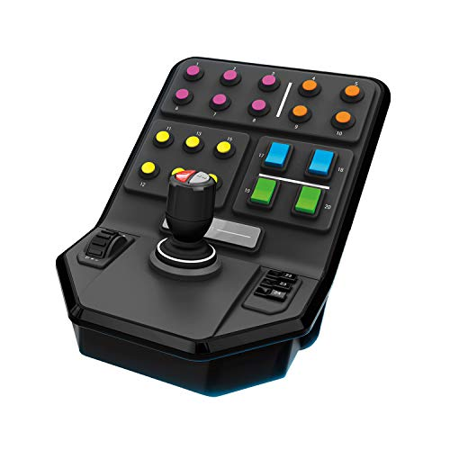Logitech G Saitek Farm Sim Controller, Farming Simulator mit Steuerpult und Controller, 25 programmierbare...