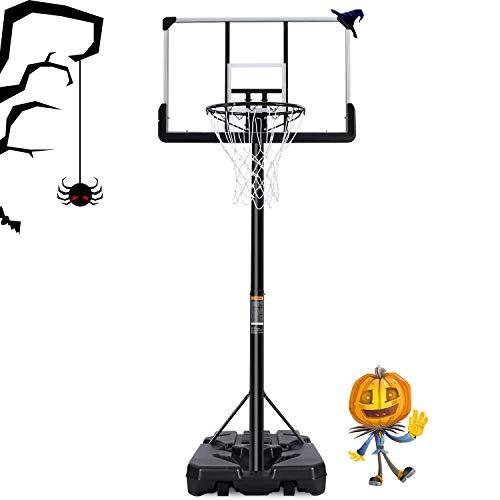 MaxKare Basketballständer Höhenverstellbar Basketballanlage Basketballkorb mit befüllbare Ständer mit...