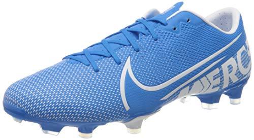 Nike Herren Vapor 13 Academy Fm/Gm Fußballschuhe, Mehrfarbig (Blue Hero/White/Obsidian 414), 43 EU
