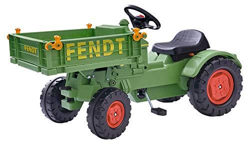 BIG spielwarenfabtik 800056552 BIG - Fendt Geräteträger - Kindertraktor, Spielfahrzeug mit...