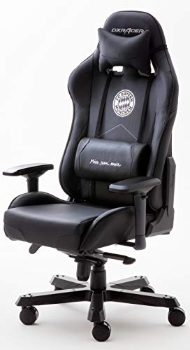 DXRacer King Gaming Stuhl Office Chair FC Bayern Black Edition