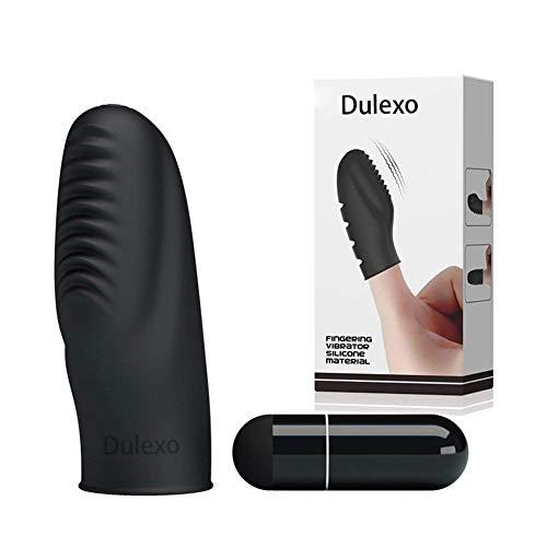 Dulexo Finger-Liebhaber Massagegert Schtteln fr Frau Wasserdicht Hergestellt von Silikon Mate