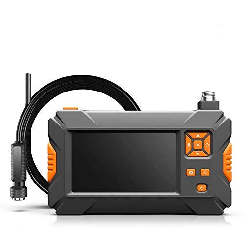 ILIHOME Endoskopkamera 4.3 Zoll Bildschirm Professionel Endoskope, 5 Meter halbsteif Kabel 8LEDs 1080P...