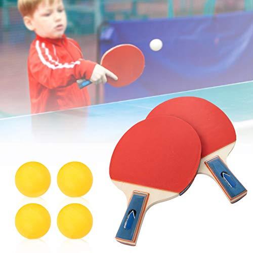 Leichter Tischtennisschläger Langlebig Tragbar für Schüler zum Üben(Horizontal short handle)
