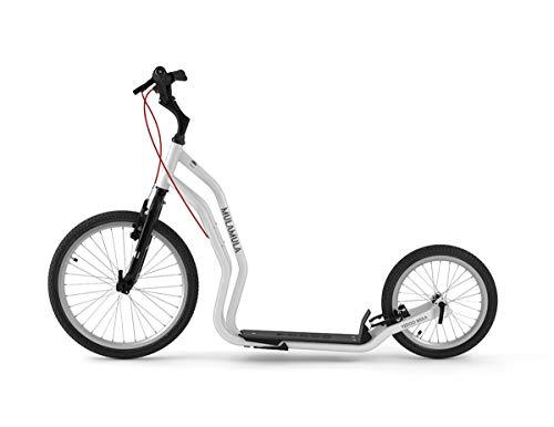 Yedoo Mula Tretroller - bis 150 kg, Kickscooter mit Luftreifen 20/16 - für Erwachsene, Scooter Roller mit...