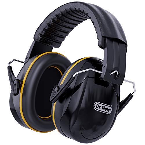 Kapselgehörschutz, Dr.meter Gehörschutz verstellbar und komfortabel für Erwachsene, Lärmschutz Kopfhörer...