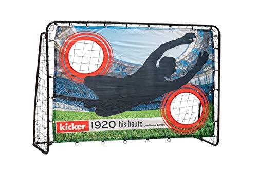 Fußball-Tor mit Torwand