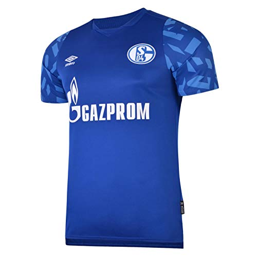 UMBRO FC Schalke 04 Trikot Home 2019/2020 Kinder blau/weiß, M