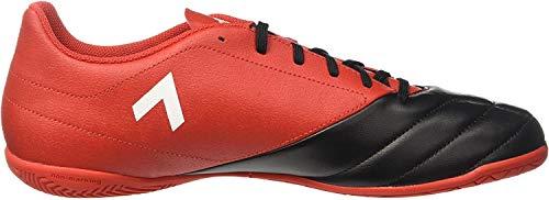 Adidas Herren Ace 17.4 in BB1767 Futsalschuhe, Rot (Rojo/ftwbla/negbas), 42 EU
