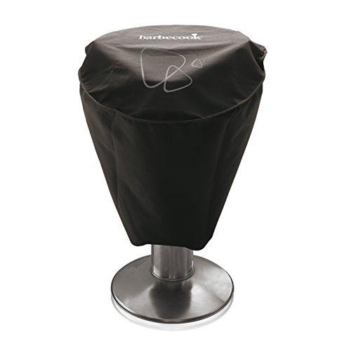 Barbecook Abdeckhaube für Säulen-grill aus Polyester schwarz passend für Loewy und Adam,