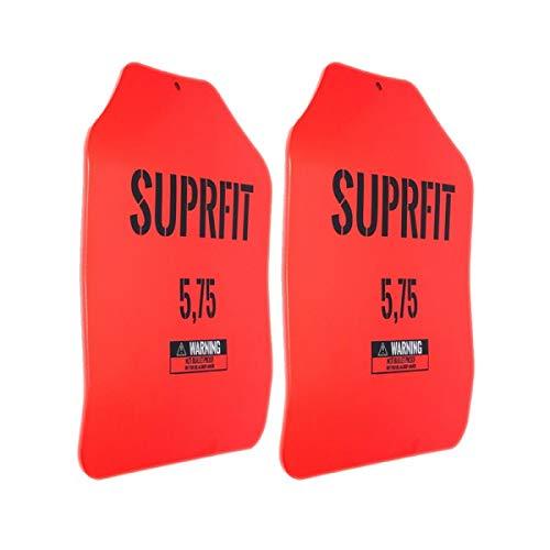 Suprfit Sigurd 3D Gewichtsscheiben - für Sigurd 3D Gewichtsweste, 2 x 5,75 lbs (5,2 kg), ergonomische Form,...