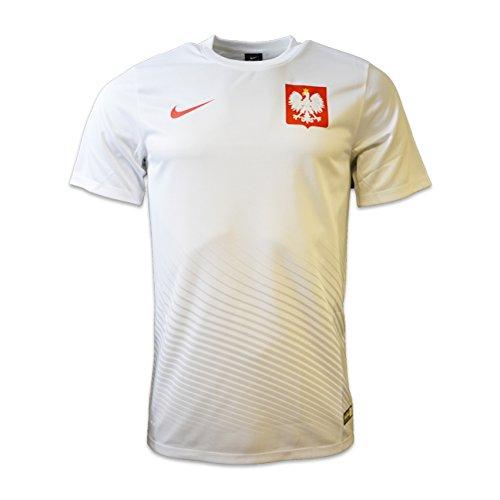 Nike Pol M H/A Supporters Tee Offizielles Fußball-Trikot S Weiß/Rot