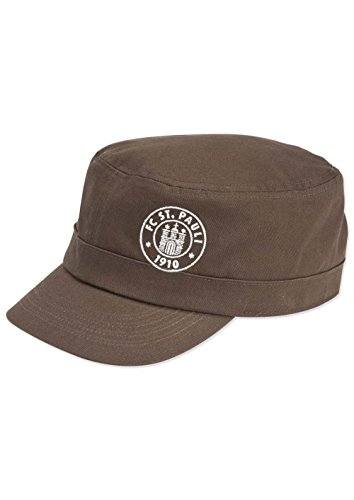 FC St. Pauli Army Logo Cap (braun, one size)