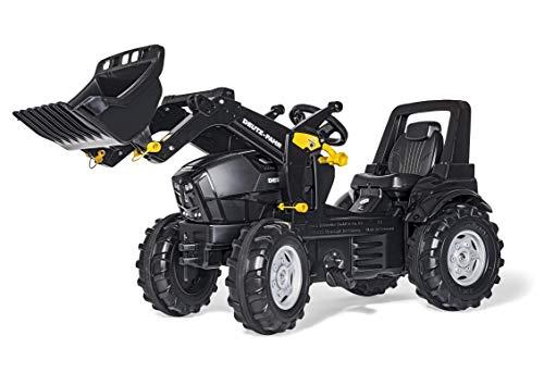 Rolly Toys Deutz Agrotron 7250 TTV WARRIOR Trettraktor + Frontlader (rollyFarmtrac Traktor; Kinder ab 3 - 8...