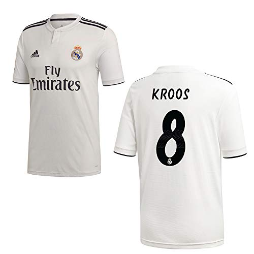 adidas REAL Madrid Trikot Home Kinder 2019 - KROOS 8, Größe:164
