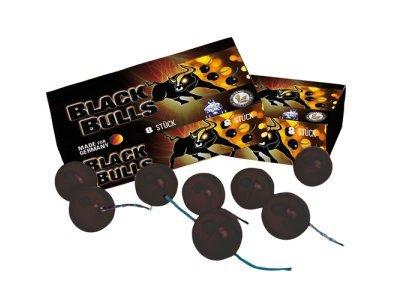 Lesli Blackbulls (Sortiment) (4 x 4 Stück) Black Bulls - Blitzknatterbälle